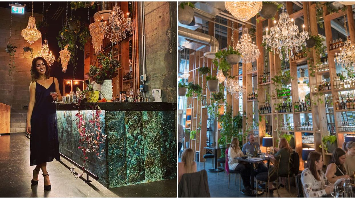 New Restaurant In Calgary Is An Enchanted Garden Dripping With Diamonds