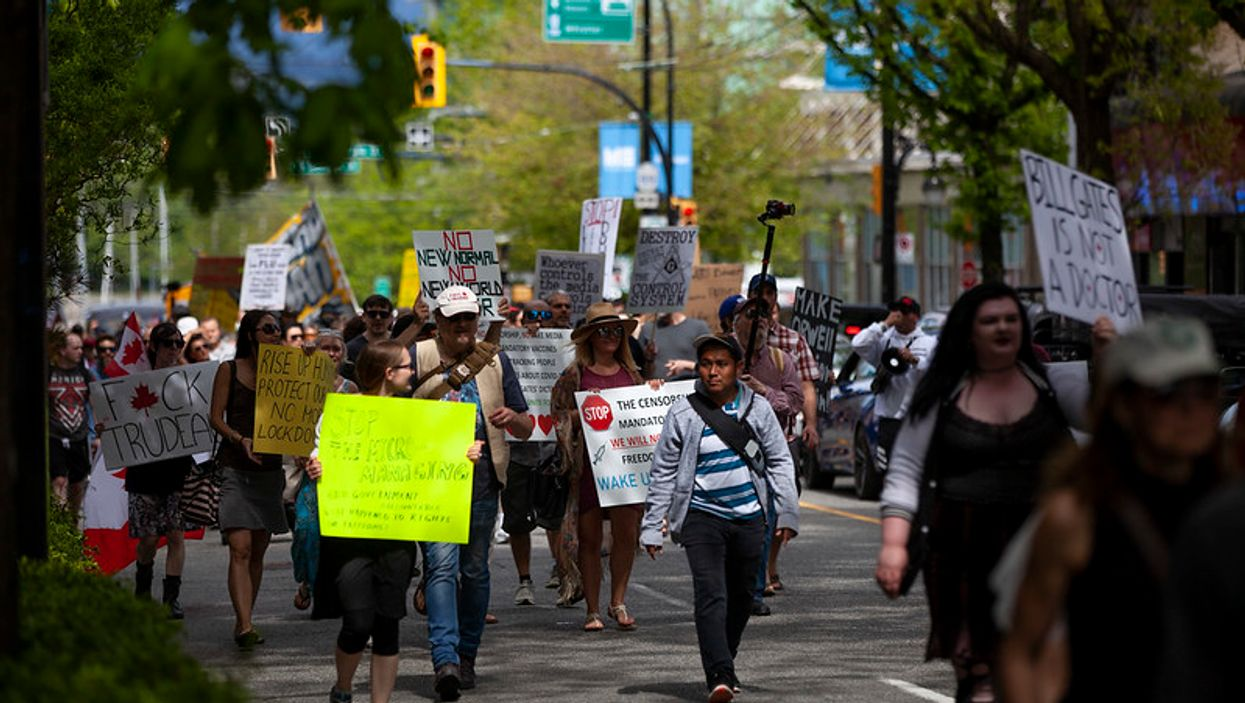 Anti-mask Protesters In Vancouver: A 'Freedom Mega Rally' Is Coming This Weekend