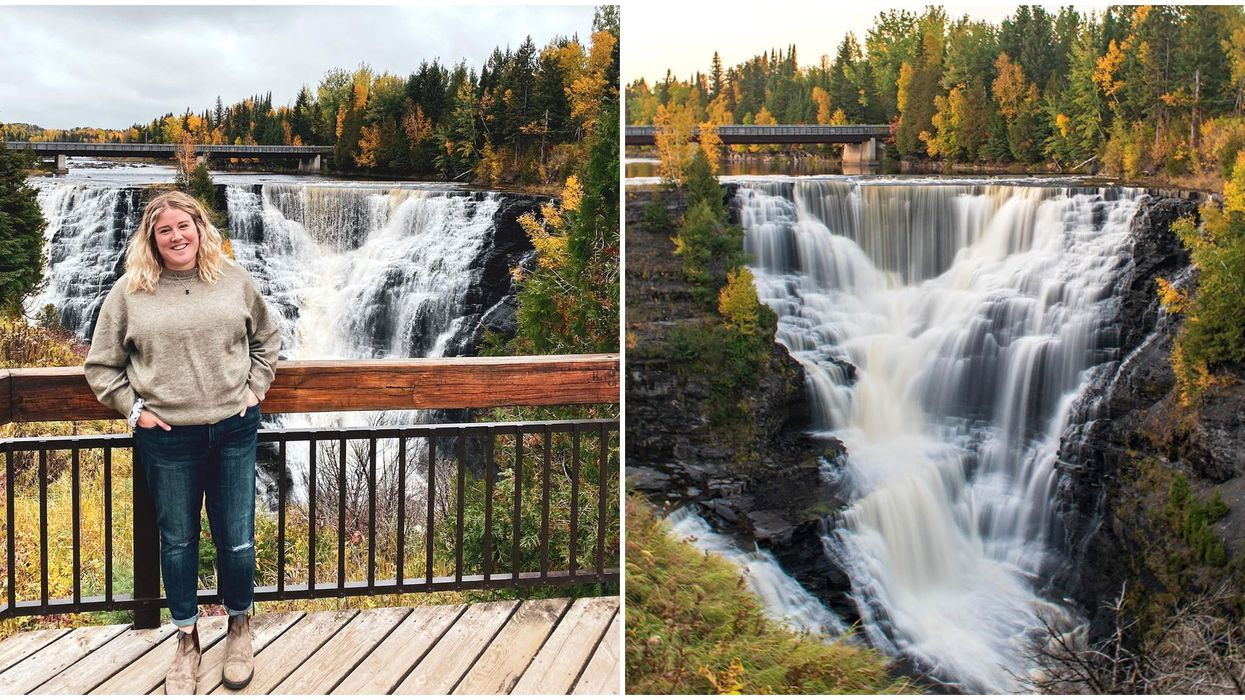 Boardwalk Trail In Ontario Will Take You To A Gigantic Waterfall