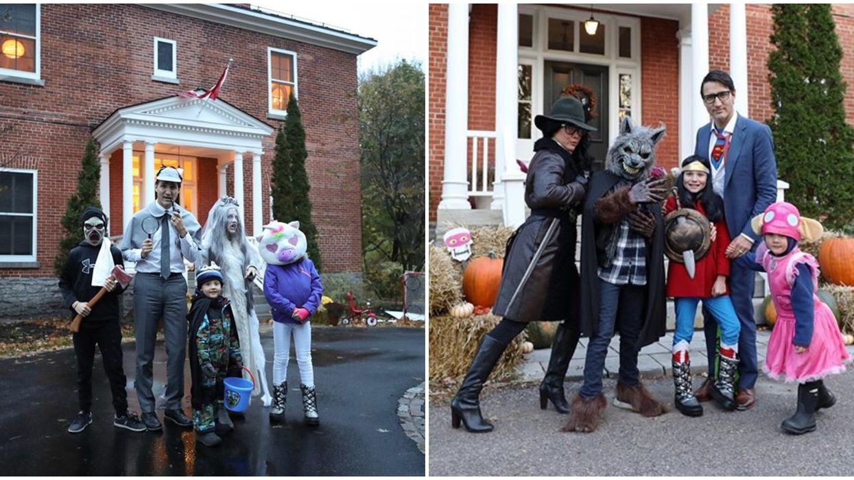 Justin Trudeau's Family Won't Trick Or Treat This Year But They Might Do Other Fun Things