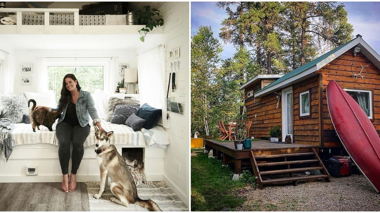 This Ontario Woman's Tiny Dream House On Wheels Will Make You Want To Ditch Your Condo