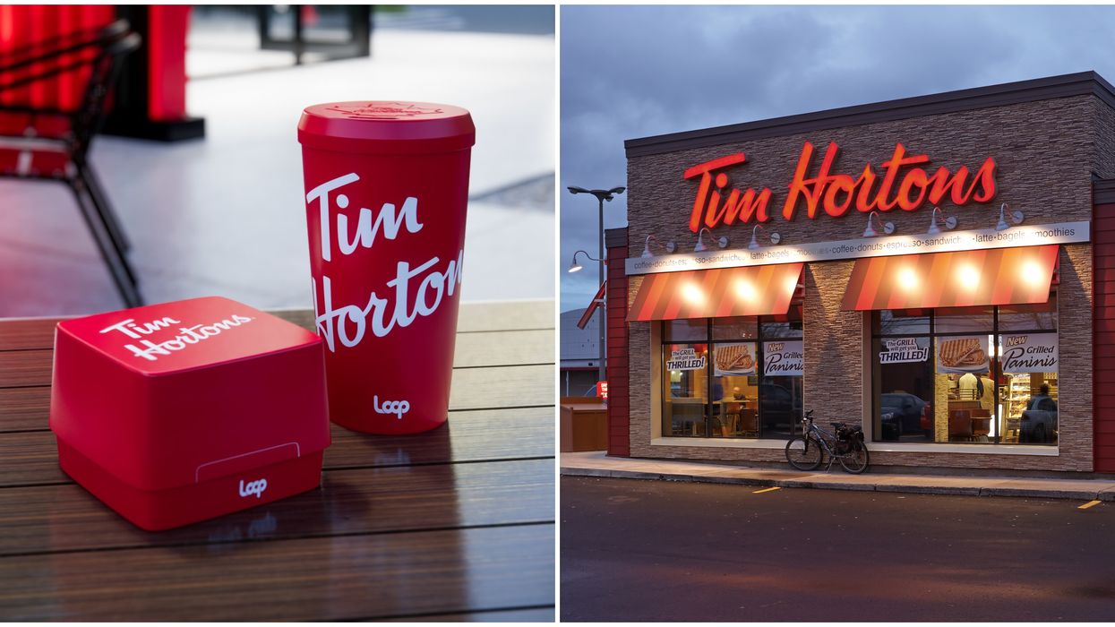 Tim Hortons Reusable Cup & Food Container That You Actually Return Will Be Piloted Soon