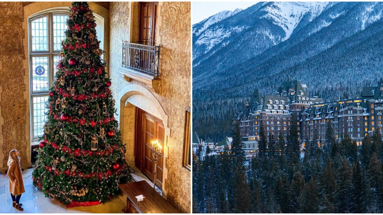 Alberta's Magical Christmas Castle Will Be Reopening Next Month (PHOTOS)