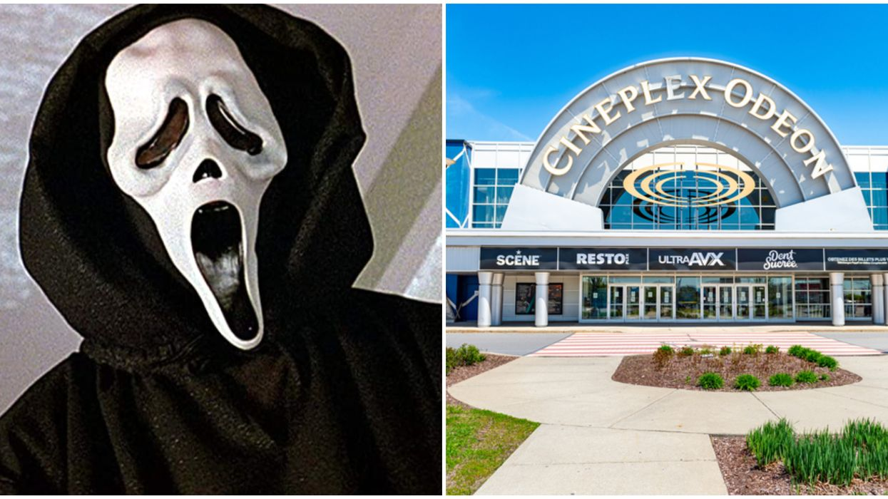Cineplex Halloween Movies Are Only $5 Right Now & It's Spectacularly Spooky