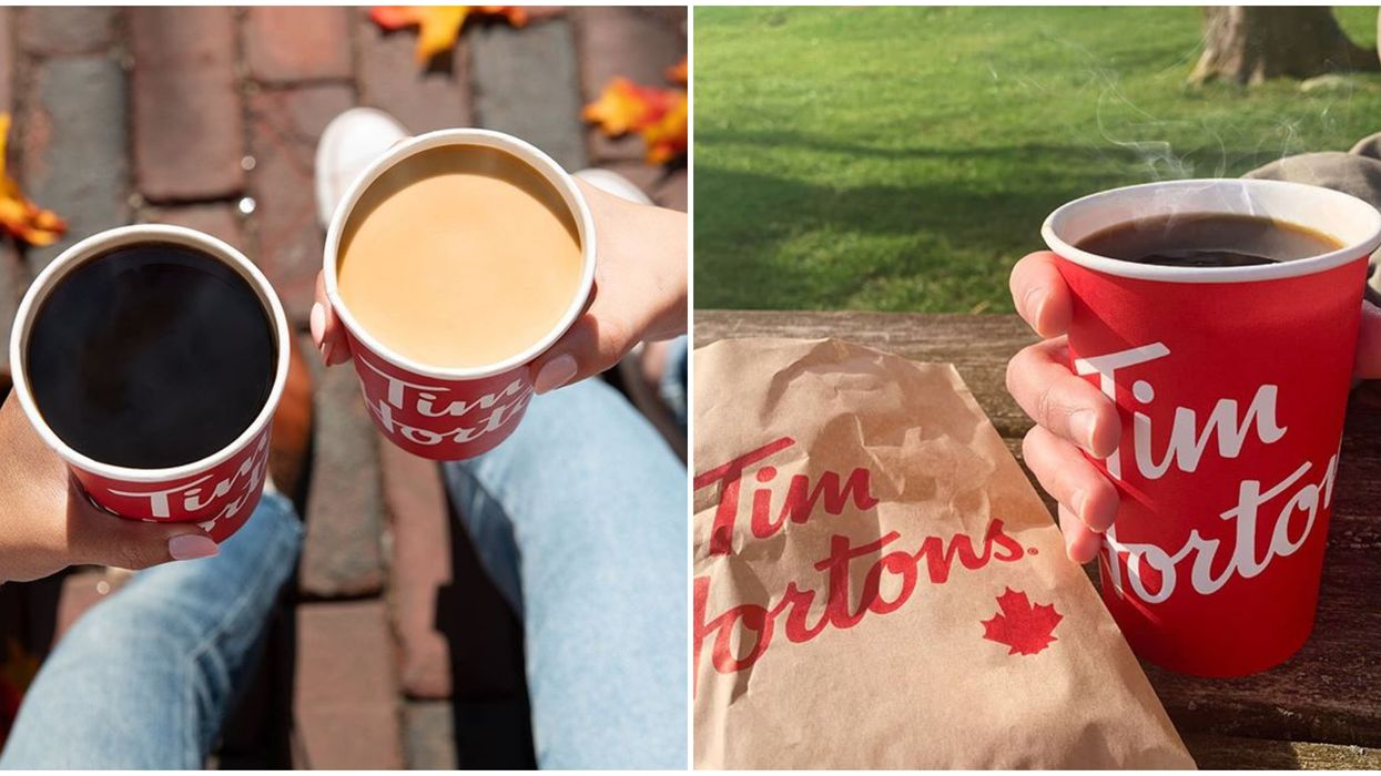 Tim Hortons Hot Beverage Giveaway Is Back & There's A Hack To Enter Without Spending Money