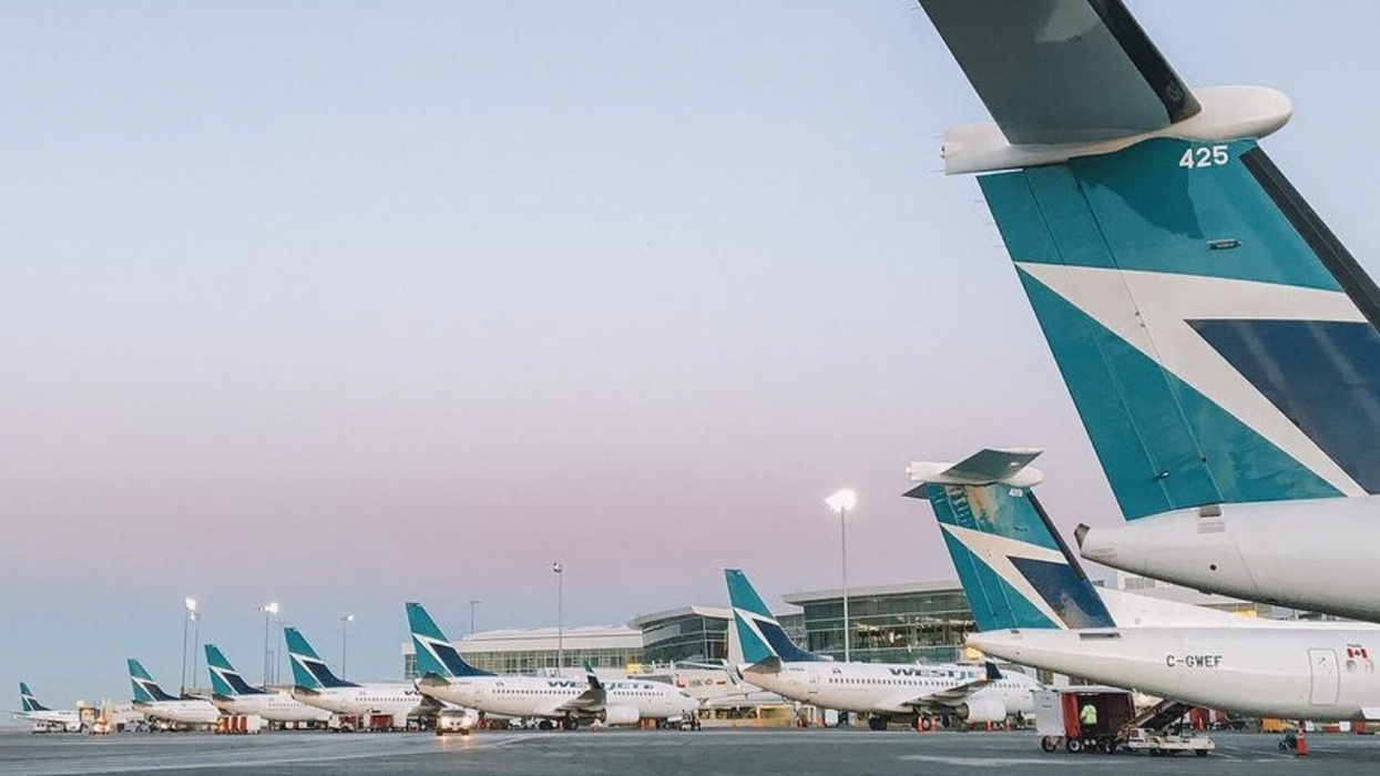 WestJet Has Seen A Colossal Drop In Demand & Over 140 Planes Have Been Grounded