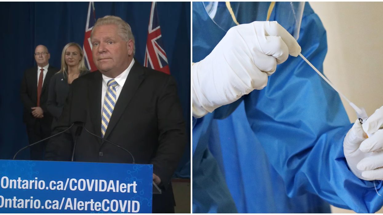 Ontario's Daily COVID-19 Cases Just Reached A New High With Almost All Of Them In The GTA