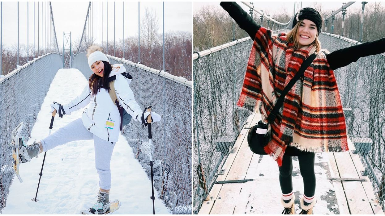 Scenic Caves Nature Adventures Has A Sky-High Suspension Bridge Lookout This Winter