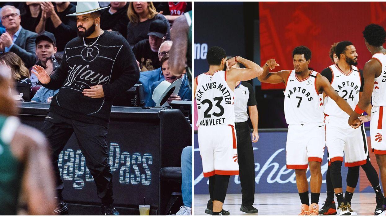 The Toronto Raptors Paid Tribute To Drake's Birthday On His Birthday