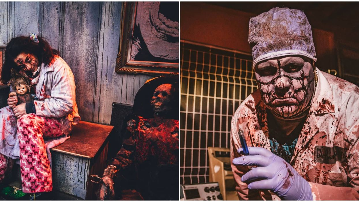 This Calgary Farm Has 6 Terrifying Haunted Houses In Their 'Field Of Screams'