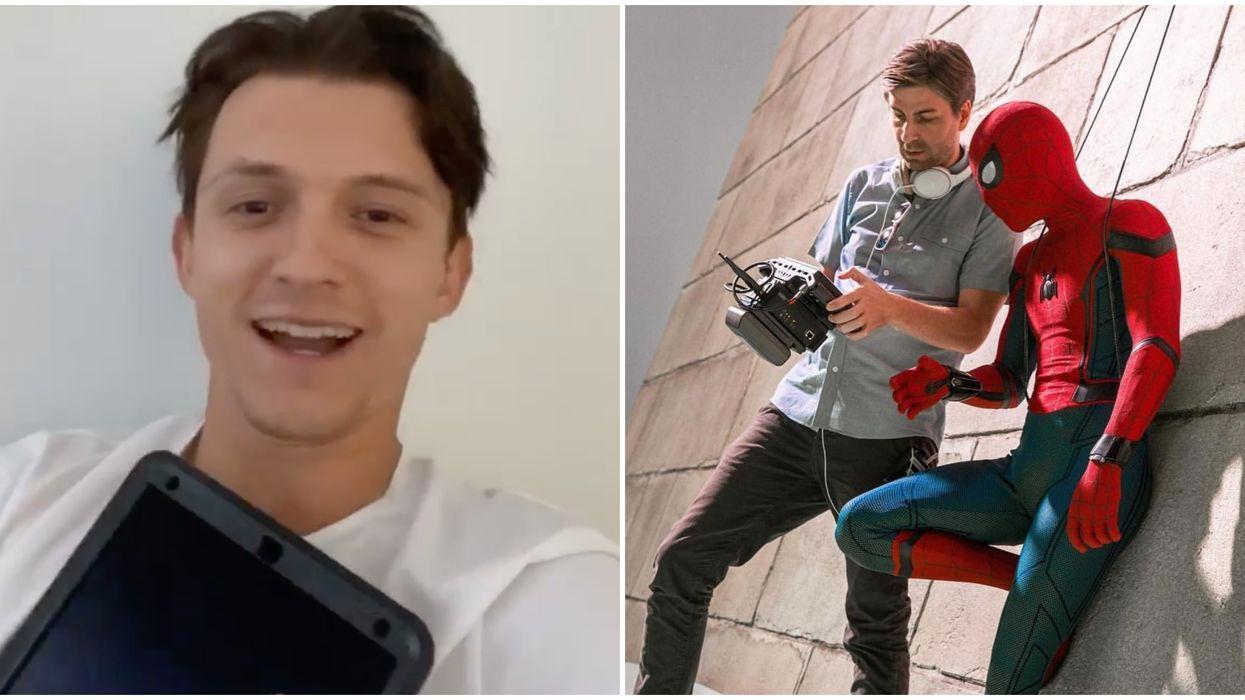 Tom Holland Spider-Man 3 Filming Atlanta Movie