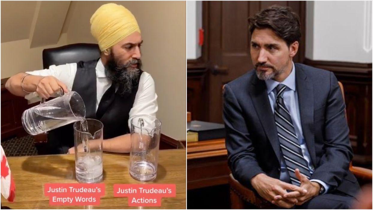 vJagmeet Singh Has Got So Sassy With Trudeau On Social Media So Many Times