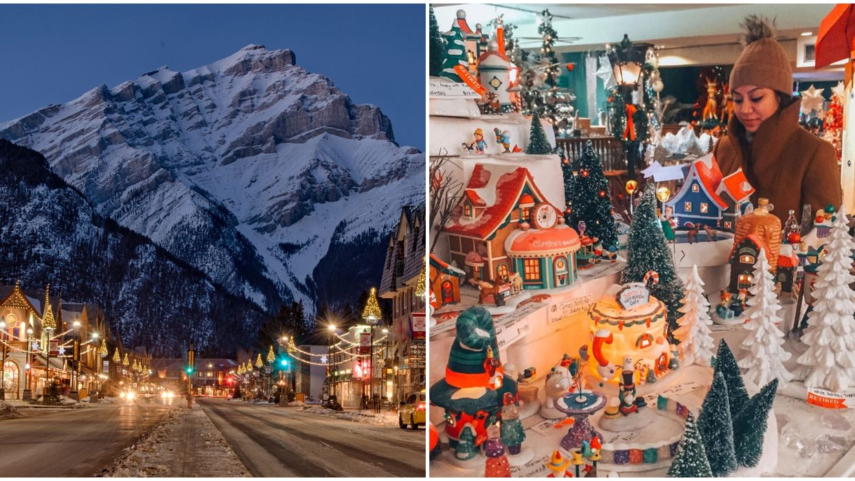 Christmas Town Canada: This Tiny Alberta Town Explodes With Holiday Cheer Every Year