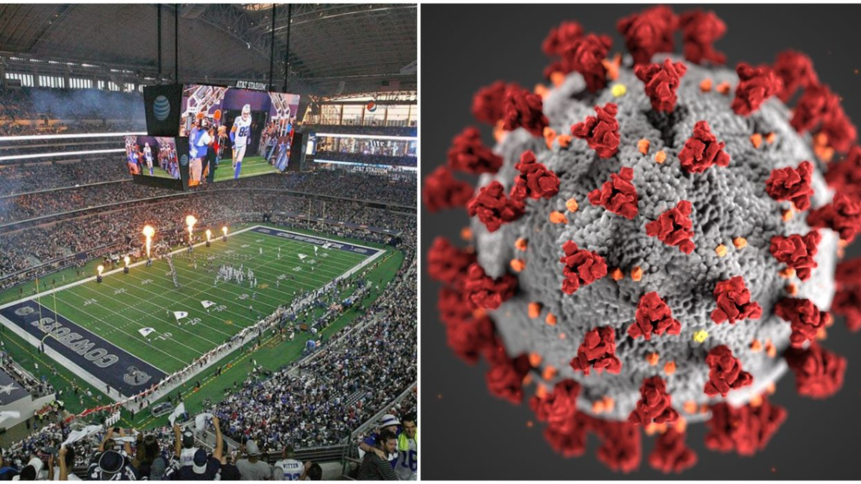 Dallas County Has Now Had Enough COVID-19 Cases To Fill Cowboys Stadium And The AAC