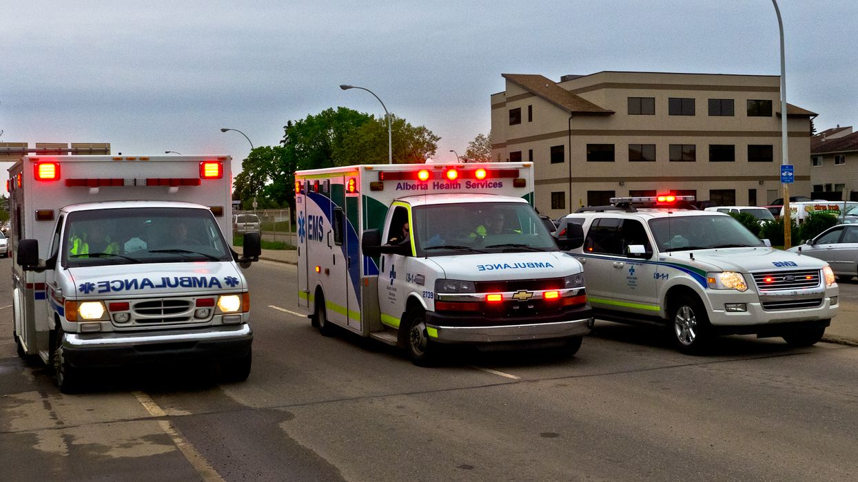 A 36-Year-Old Edmonton School Teacher Has Been Killed By A Flying Semi-Truck Wheel