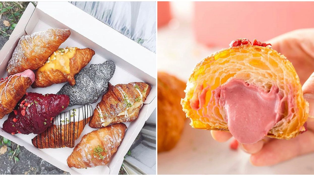Toronto's New Bakery Has Over 100 Flavours Of Croissants & It's A Carb Lover's Paradise