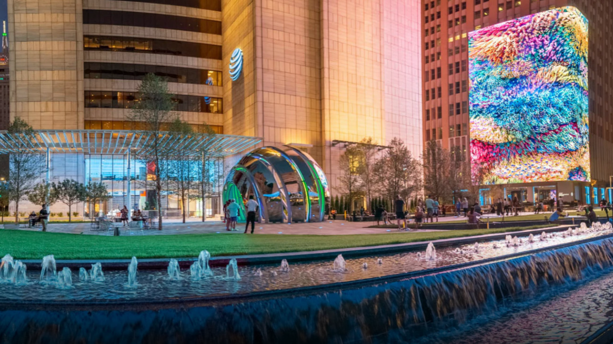 This New Dallas Discovery District Is Straight Out Of The Future (VIDEO)