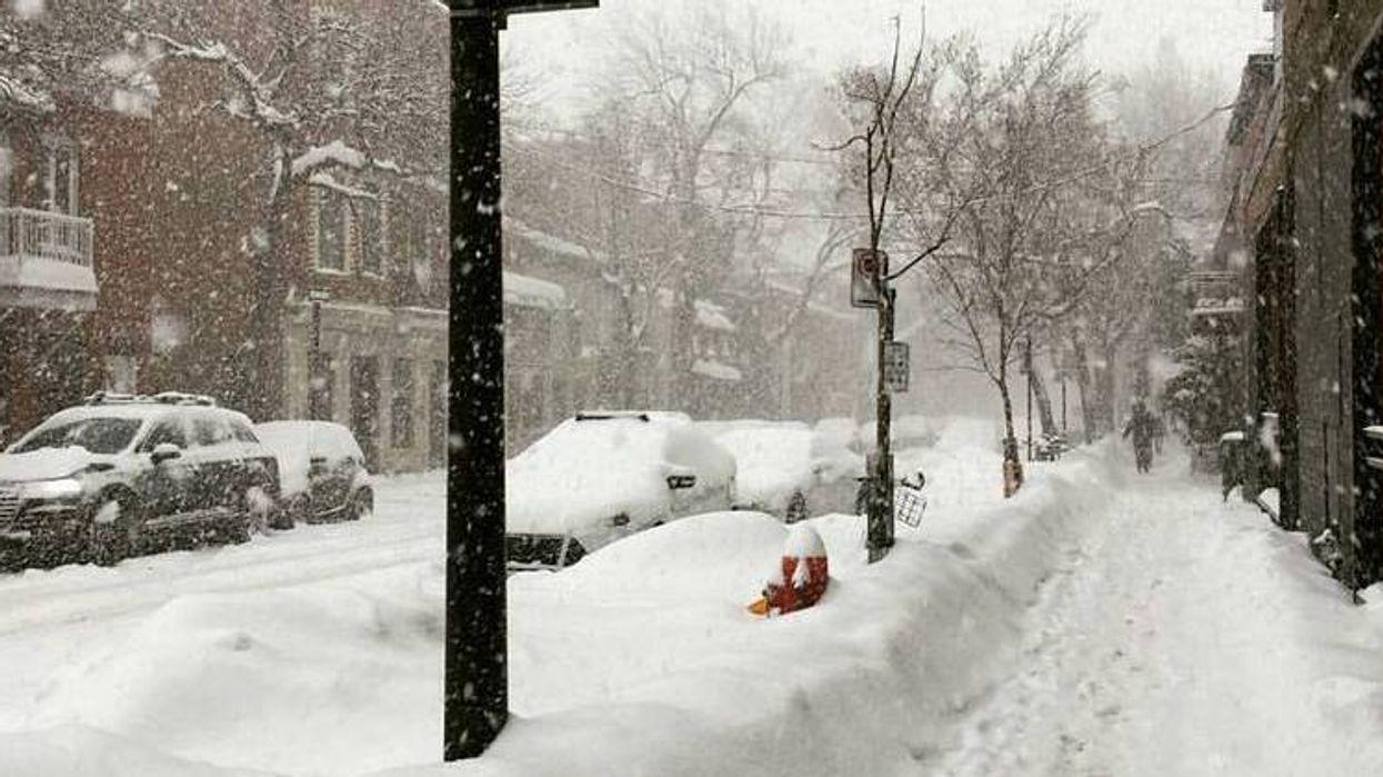 Une énorme tempête de neige arrive au Québec cette semaine!