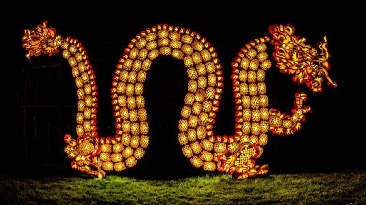 Upper Canada Village Has Turned Into A Massive Jack-O'-Lantern Garden