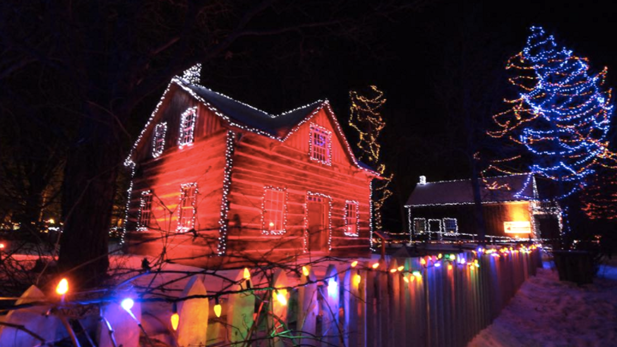 You Must Check Out This Magical Lit Up Village Near Ottawa This Holiday Season
