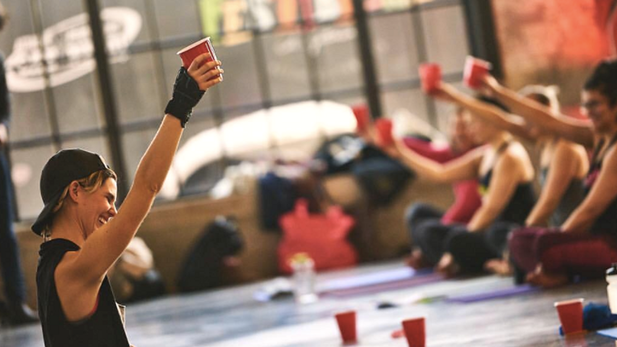 You Can Drink Beer While Doing Yoga In Ottawa And Life Is Now Complete