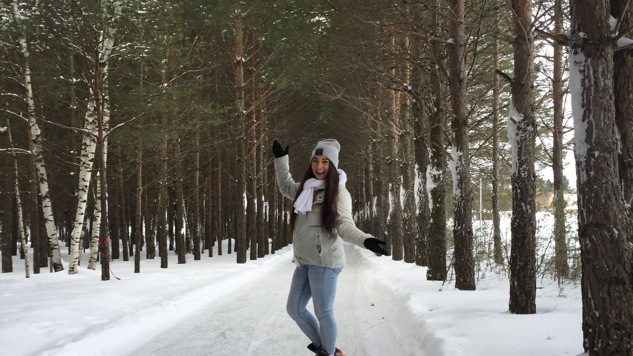 La patinoire de 15 km en forêt où tu dois aller cet hiver au Québec