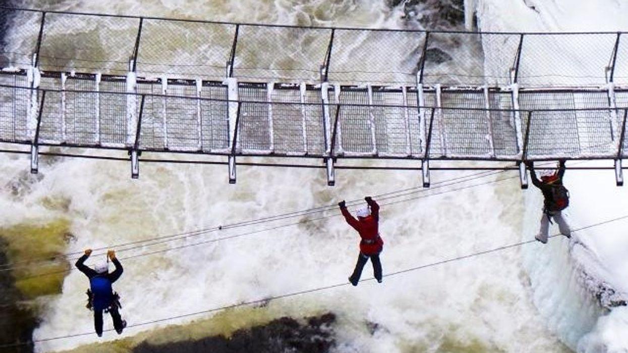 La FOLLE activité d'hiver que tu dois essayer en février au Québec