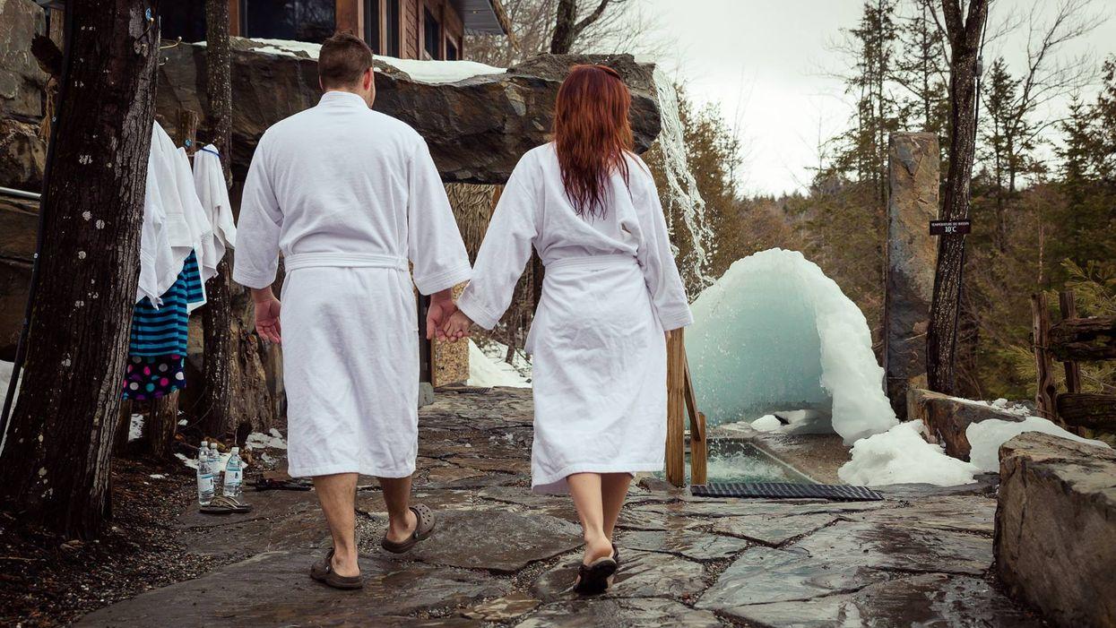 Les 8 plus beaux spas où aller avec ta date cet hiver près de Québec