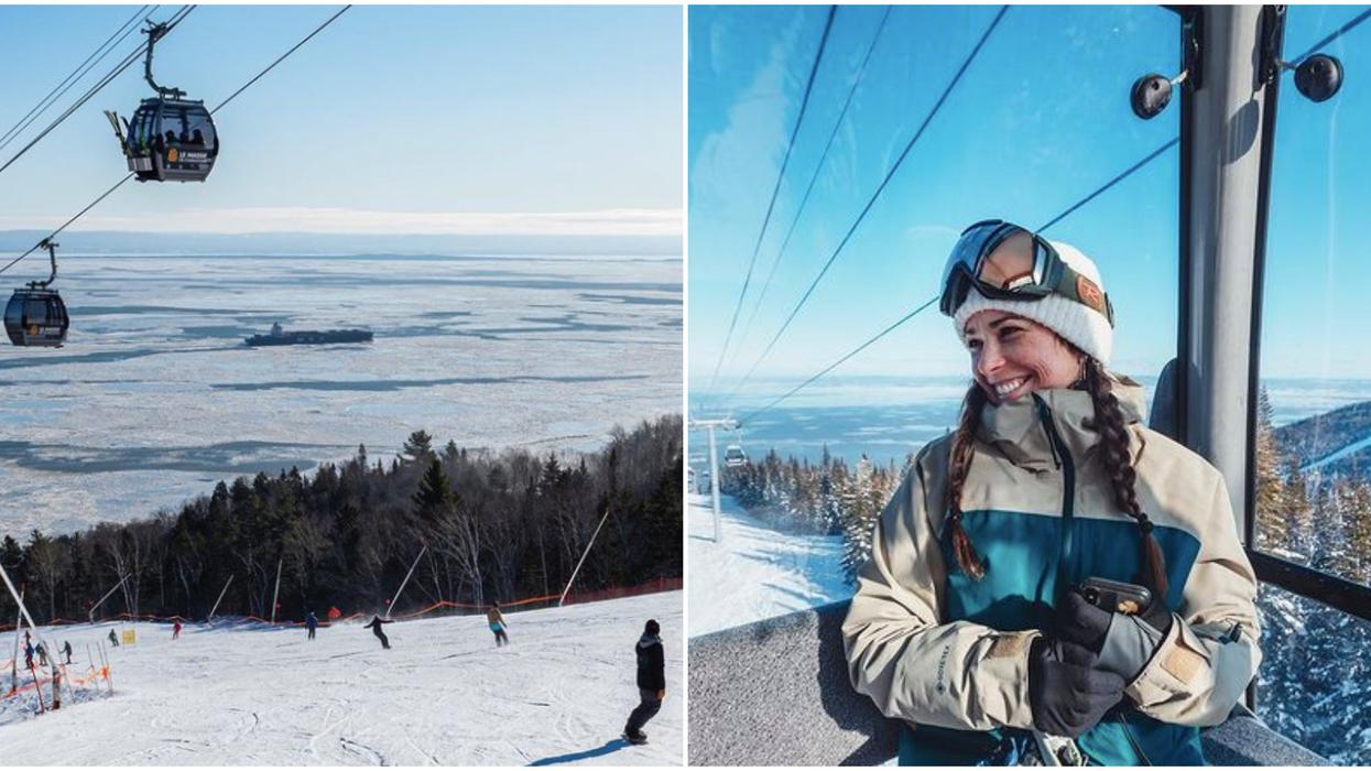 La glissade en luge de 7.5 km près de Québec que tu dois absolument essayer cet hiver