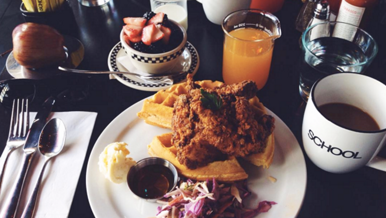 10 Best Toronto Places To Eat Some Sweet Sweet Chicken And Waffles