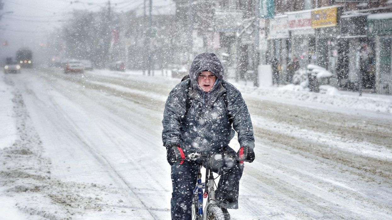Blizzard Alert In Place For Toronto And Southern Ontario