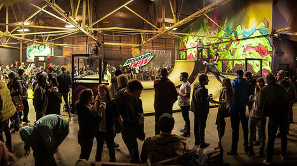 Free Indoor Skate Park Opening At Queen & Dufferin