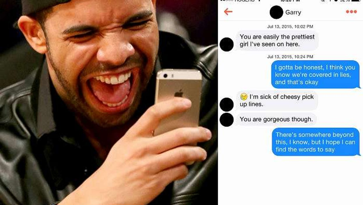 Here's What Happens When You Reply To Guys On Tinder With Drake Lyrics