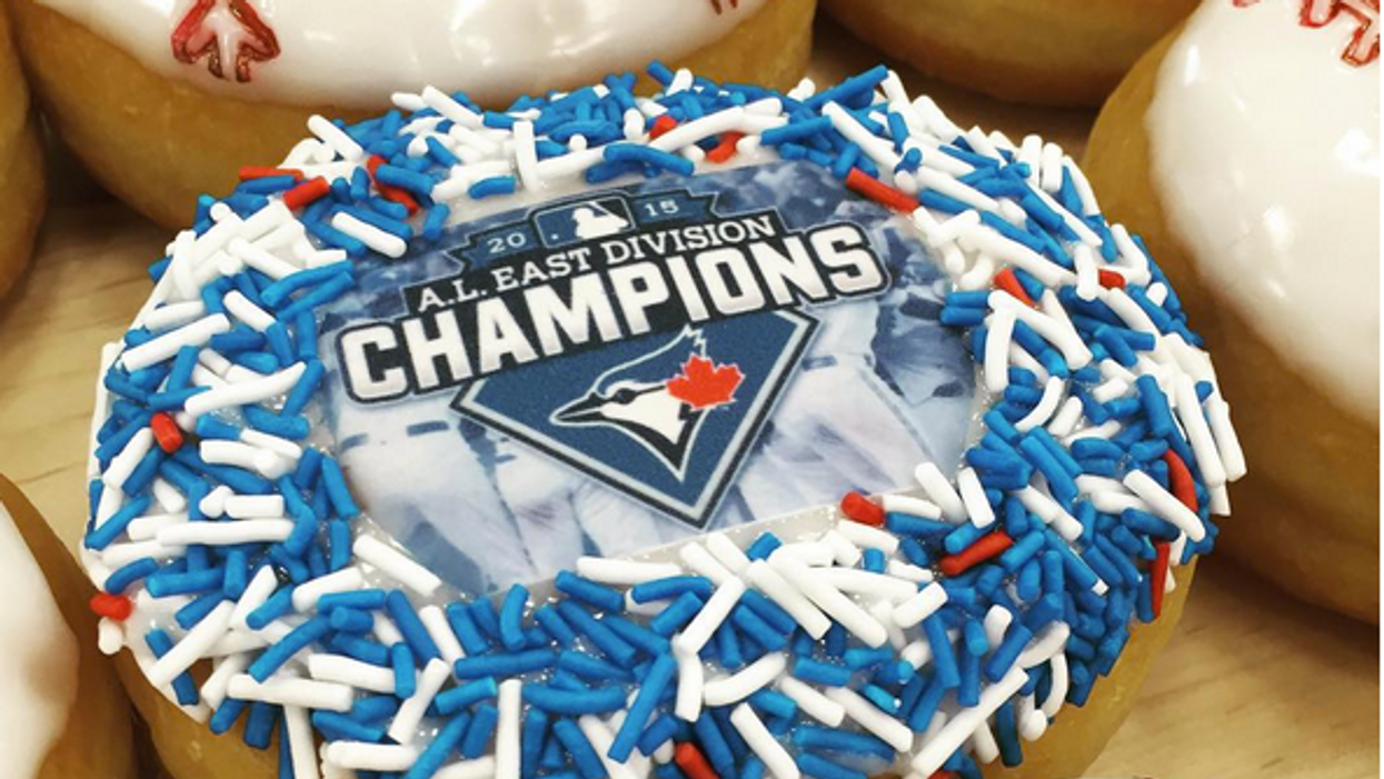 Tim Hortons Created A Donut For The Jays Winning The American League East