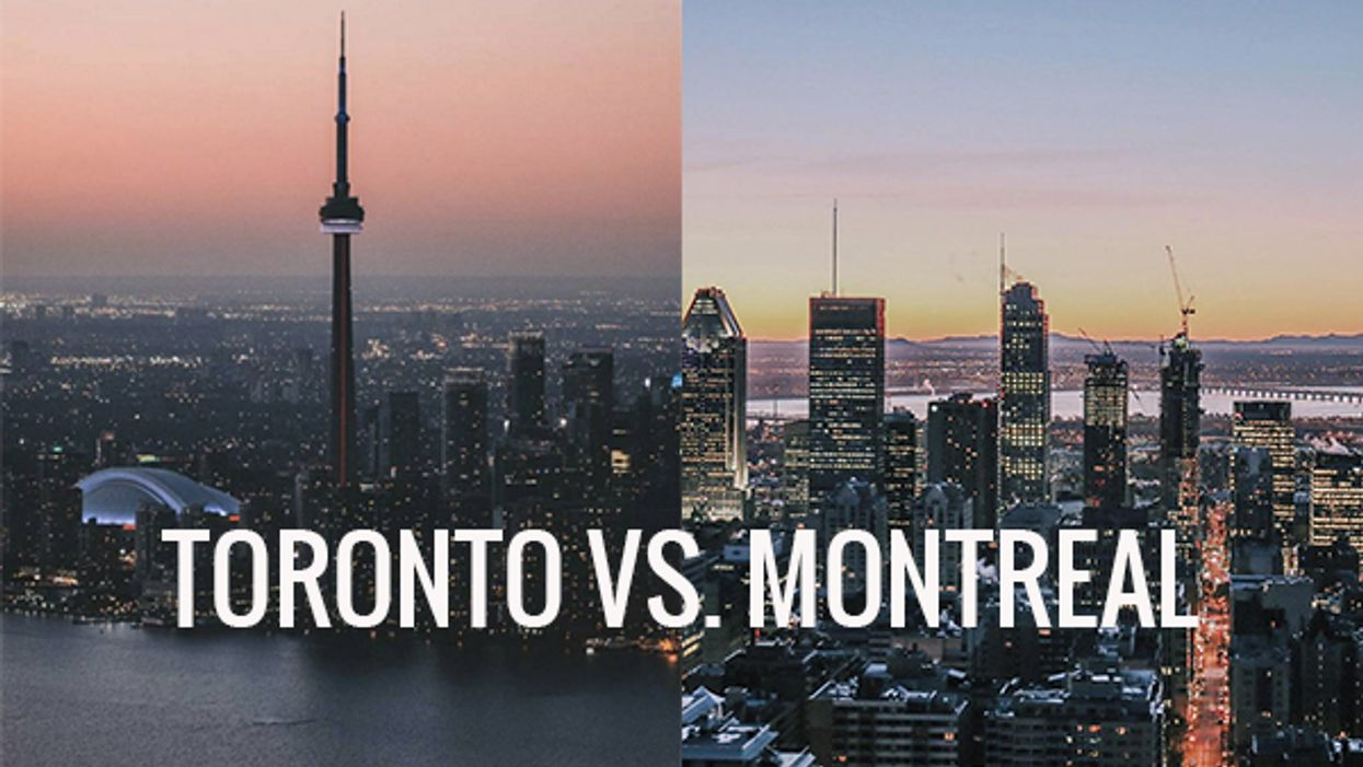 Going Out In Toronto VS Going Out In Montreal