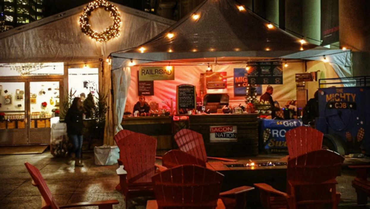 There Is Now A Free Christmas Market At Union And It's Adorable