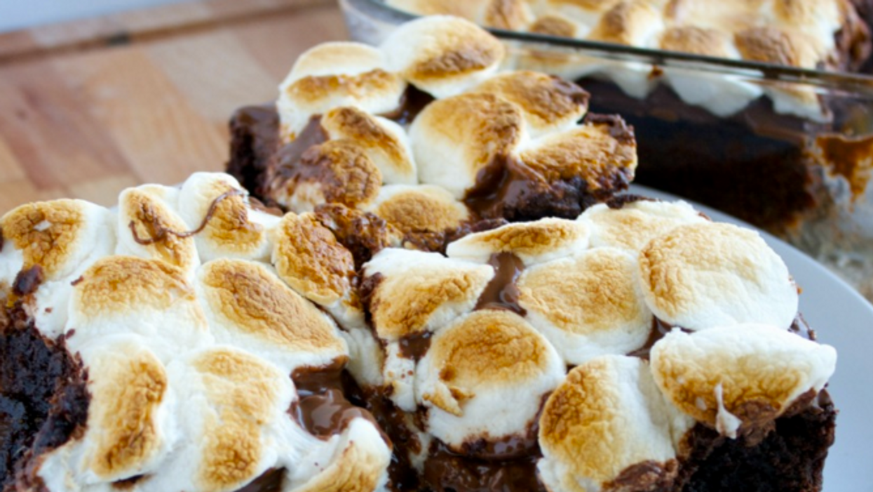 Celebrate National Brownie Day With These Insane S'mores Brownies