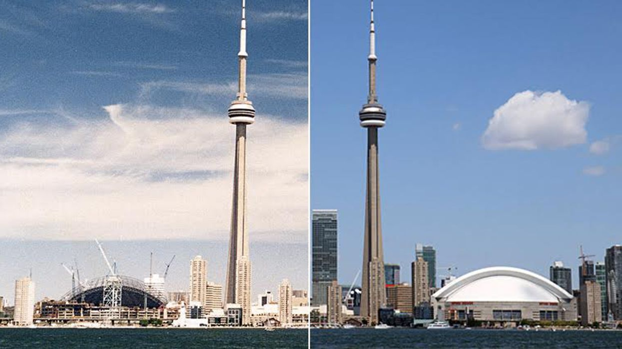 7 Incredible Photos Of Toronto Then And Now