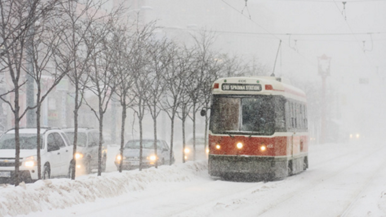 Toronto Is Going To Be Hit By Insane Snow Storm