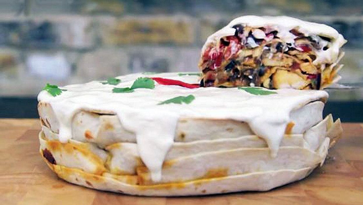 Fajita Cake Is The Unique And Delicious Food Your Life Has Been Missing
