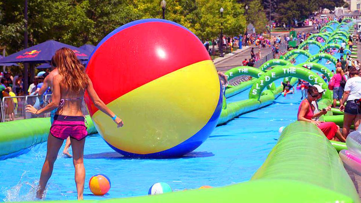 """Toronto Will Be Transformed Into A 1,000 Foot """"Slip-N-Slide"""" This Summer"""
