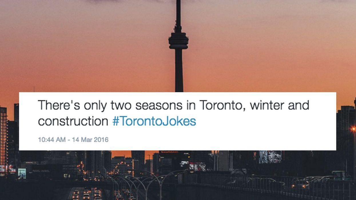 13 Hilarious Tweets About Toronto