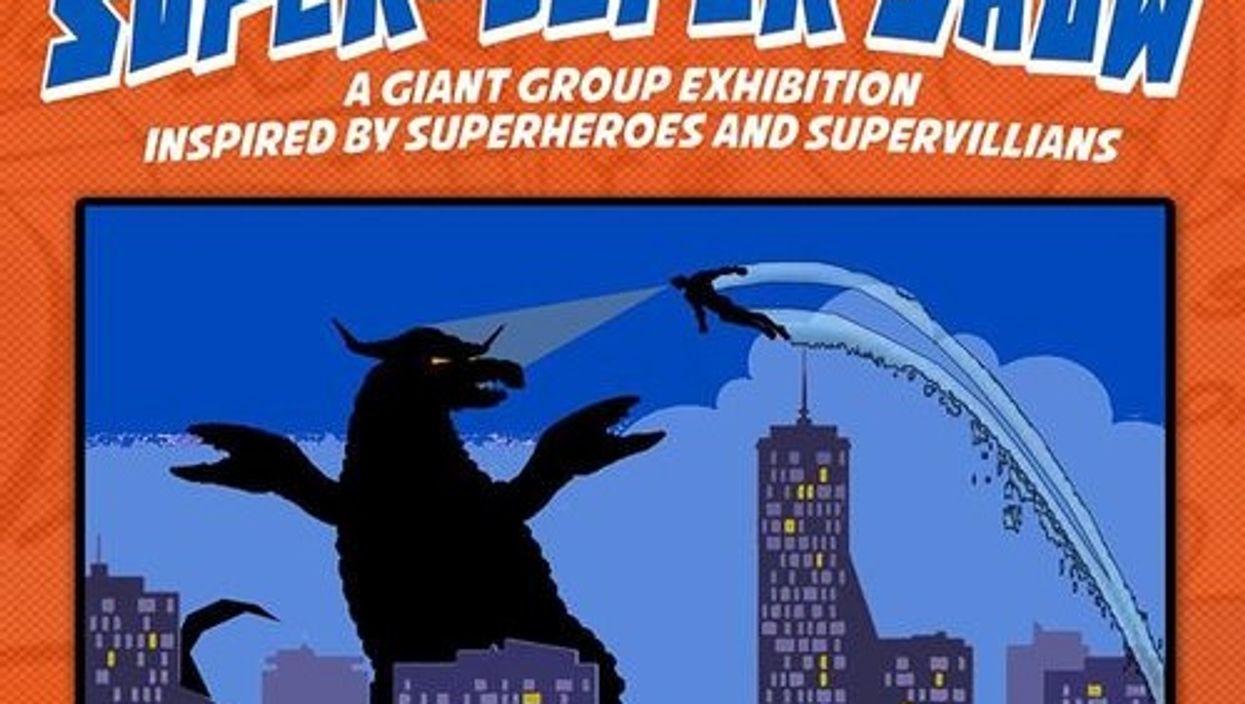 Toronto Is Hosting A Superhero Themes Art Show This Weekend