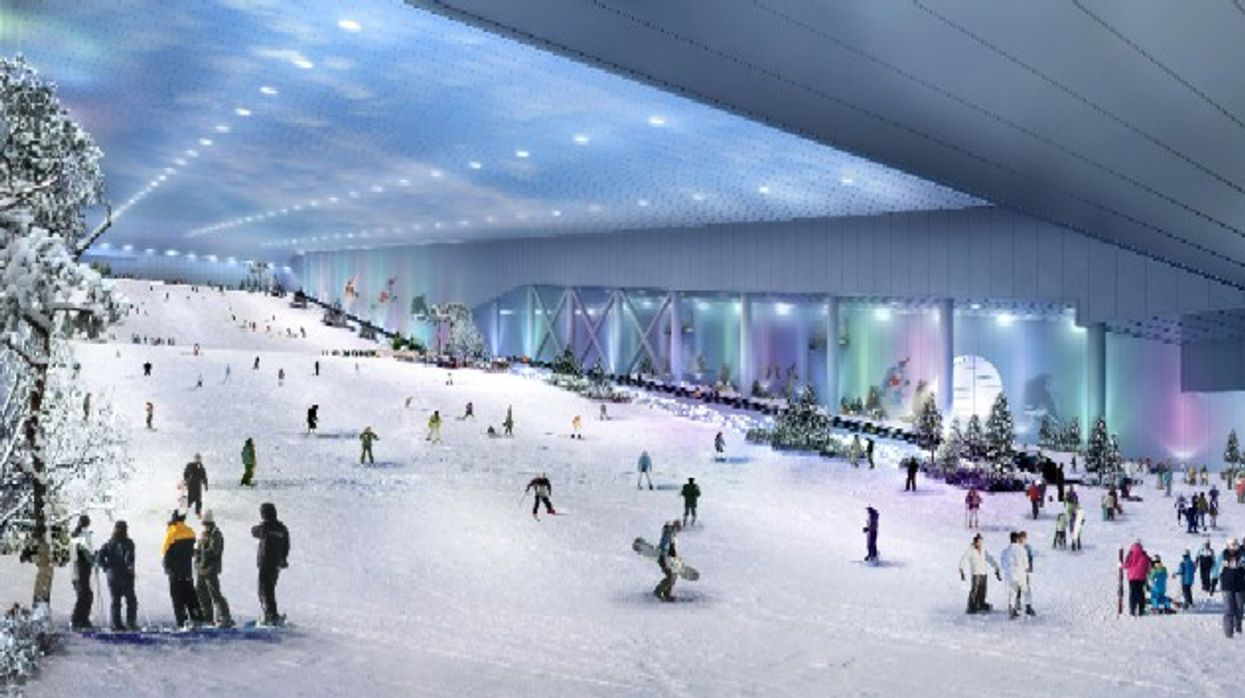 A Massive Indoor Snow Hill For Skiing and Snowboarding Is Coming To Toronto