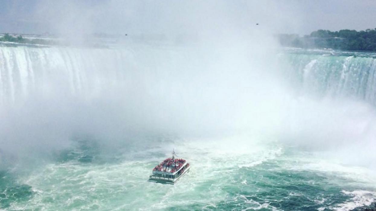 You Must Zipline Across Niagara Falls This Summer