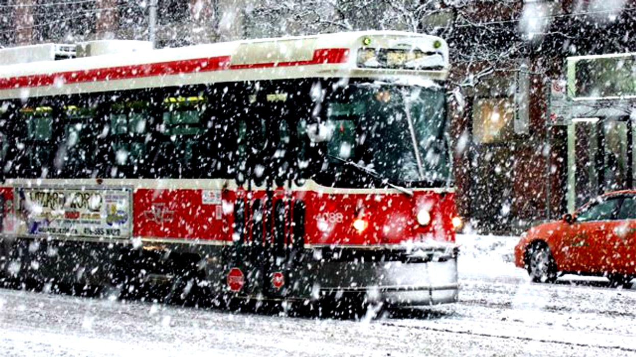 A Major Snowstorm Is Predicted To Hit Toronto On December 8