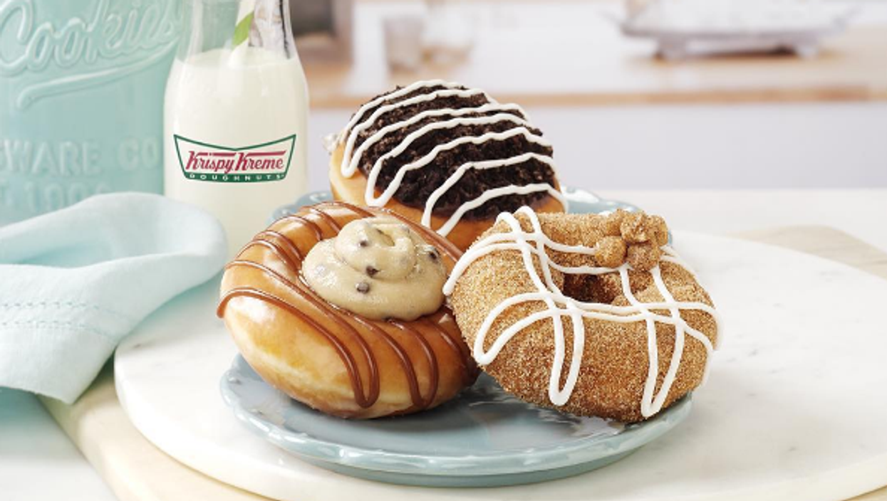 You'll Be Able To Get Free Krispy Kreme Donuts Tomorrow