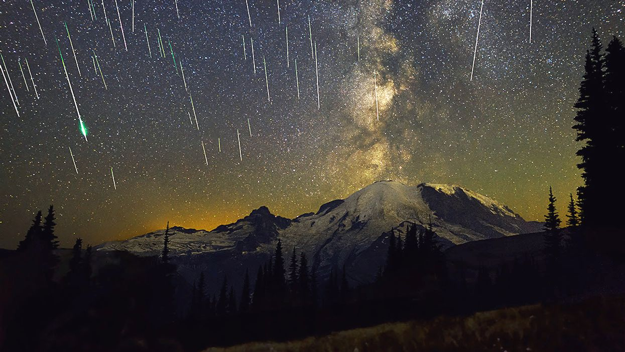 A Spectacular Meteor Shower Will Light Up The Skies This Saturday Night