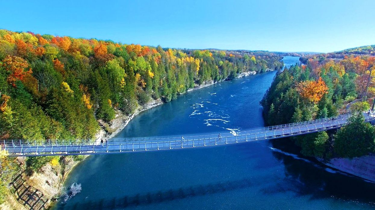 This Breathtaking Suspension Bridge Is Only 2 Hours Away From Toronto