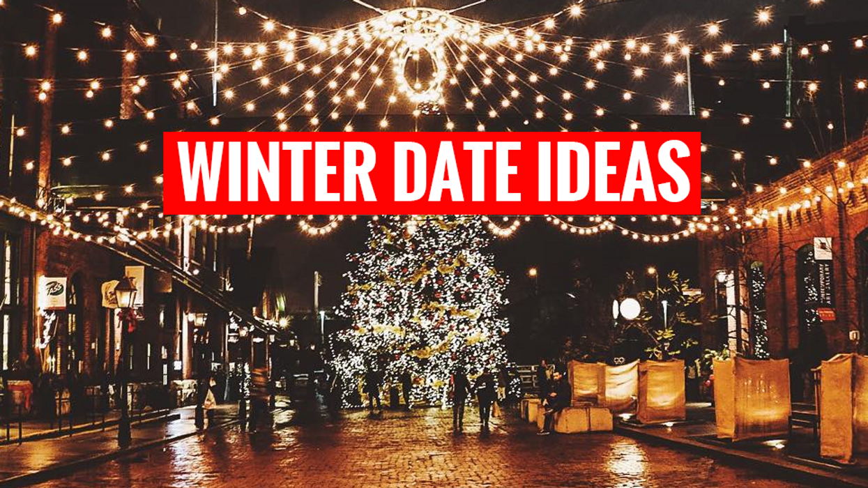 19 Places In Toronto To Go On A Date During The Holidays